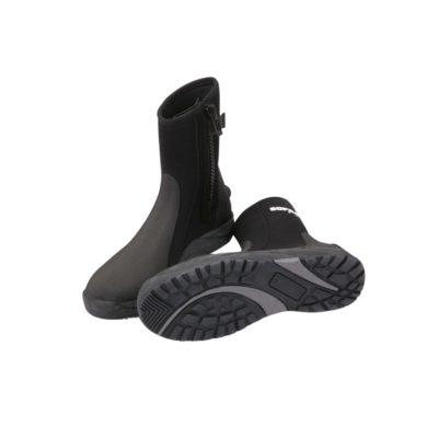Boots, socks